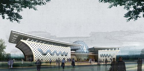 山西吕梁客运站设计方案